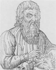 Hippocrates. His contributions to medicine include detailed observations of disease and its effects, and an understanding of how health is often influenced by external factors.